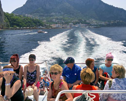 Sailing on Capri