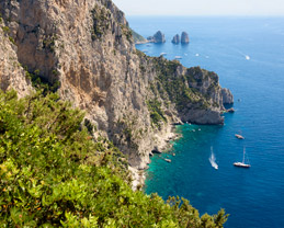 Capri by sea